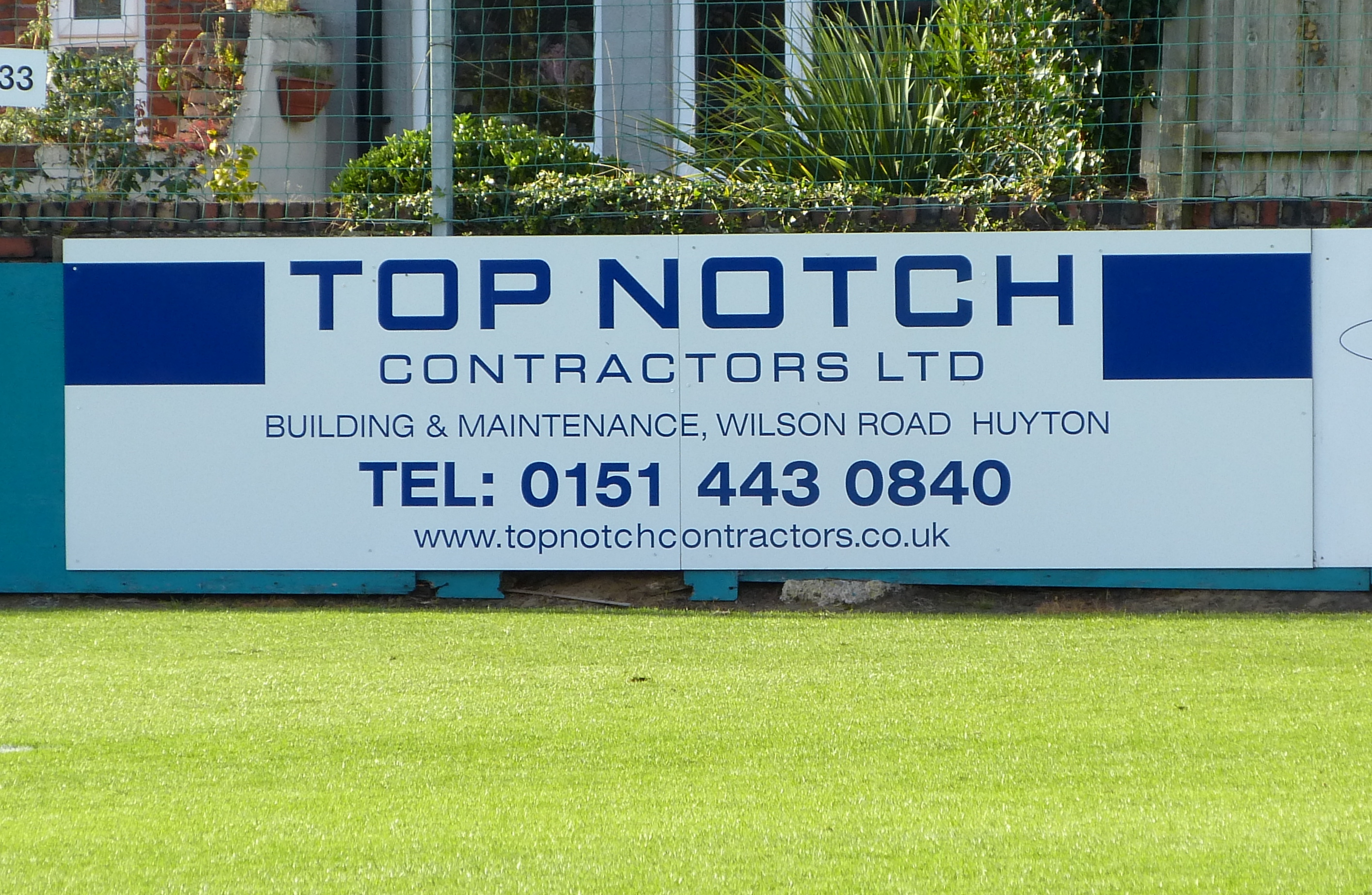 Top Notch are now proud to sponsor Marine F.C.