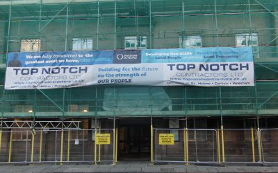 Top Notch Contractors Ltd complete handover on major window replacement programme for Preston City Council.