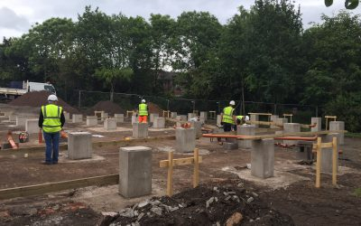 Top Notch Contractors Ltd Deliver University of Cumbria Fusehill St Campus Civils Works