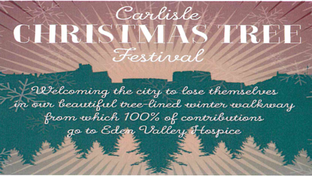 The Carlisle Christmas Tree Festival in Support of Eden Valley Hospice
