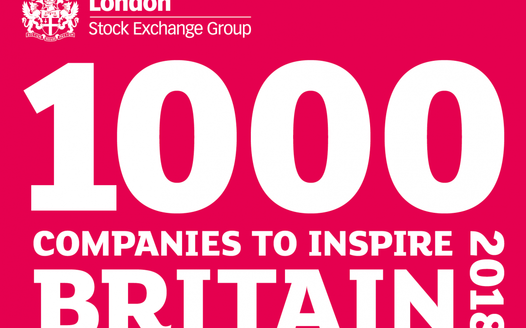 Top Notch Contractors Ltd identified in London Stock Exchange Group's '1000 Companies to Inspire Britain' report