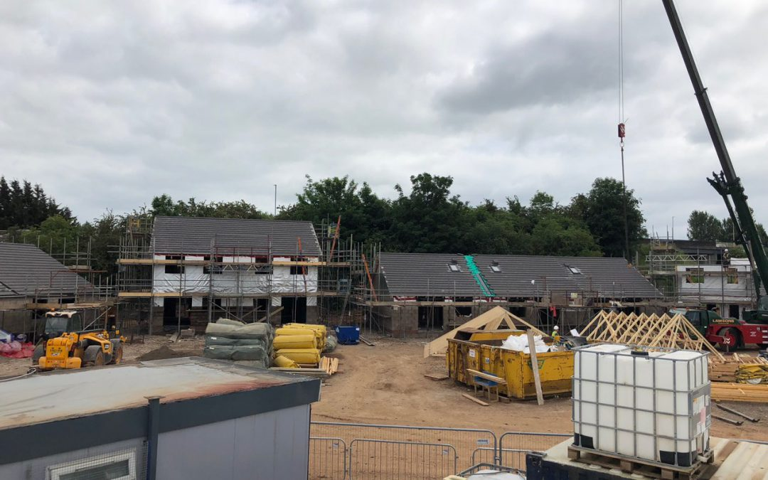 Top Notch Contractors Ltd New Build team commence a £ 7 M development deal with Home Group to develop 66 affordable new homes in Durranhill, Carlisle.