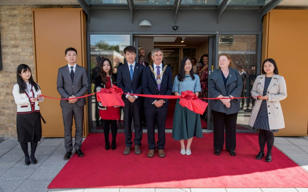 Top Notch Contractors Deliver £500k Refurb of the Confucius Institute at Lancaster University