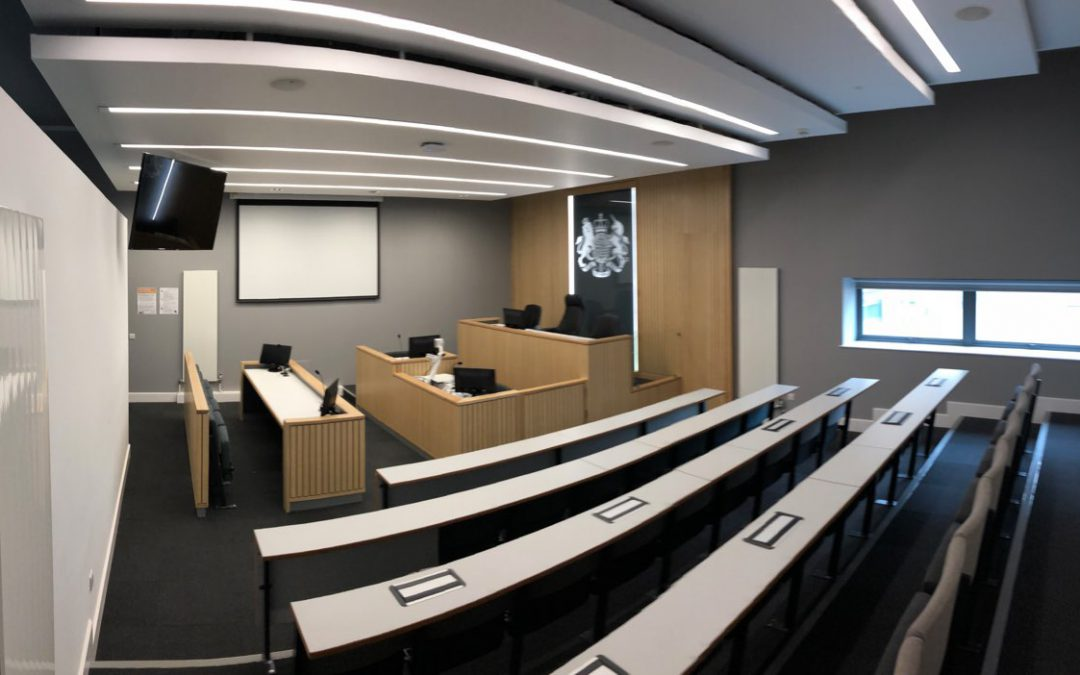 Lancaster University Mock Court Rooms