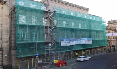 Preston Town Hall Windows