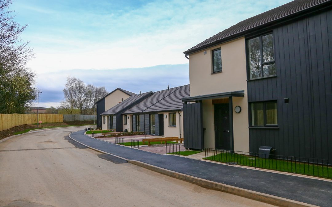 Top Notch Hand Over first 21 homes in new Millers Close Development.