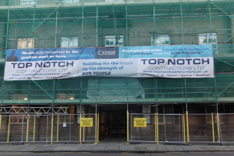 Top Notch Contractors Ltd complete handover on major window replacement programme for Preston City Council.
