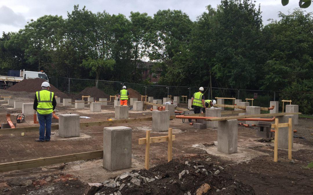 Top Notch Contractors Ltd Deliver University of Cumbria Fusehill St Campus Civils Works