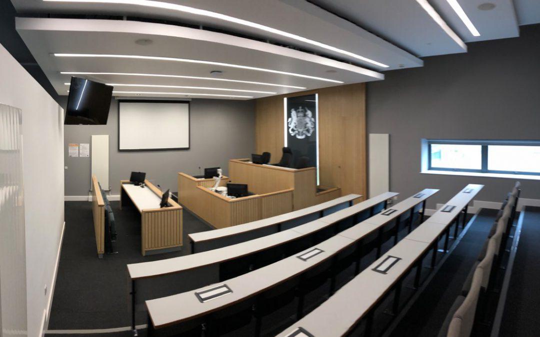 Lancaster University Mock Court Rooms